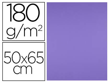 Cartulina 50x65 180 Gr Purpura