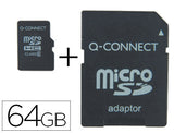 Memoria Sd Micro Flash 64 Gb Clase 10 Adaptador