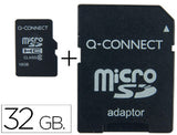 Memoria Sd Micro Flash 32 Gb Clase 6 Adaptador