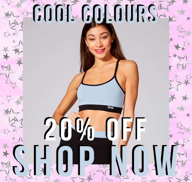 20% Off Cool Colours