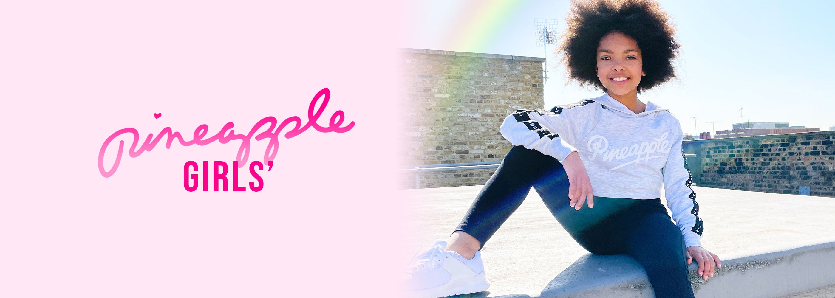 Pineapple Dance active and leisure fashion for girls