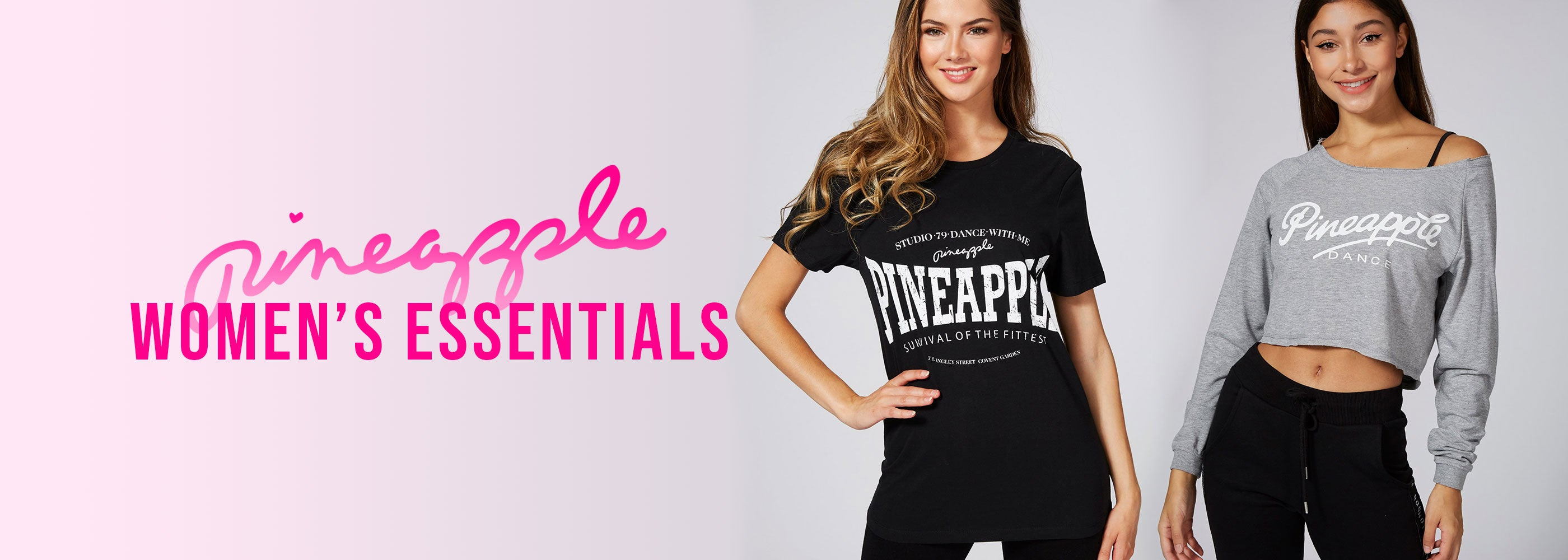 Pineapple Dance leisure and fitness fashion essentials for women