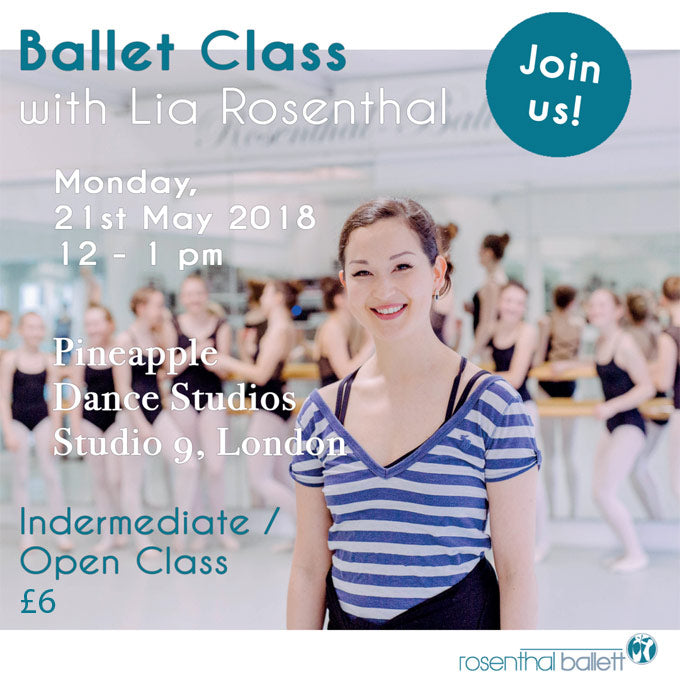 Open Ballet Class with Lia Rosenthal