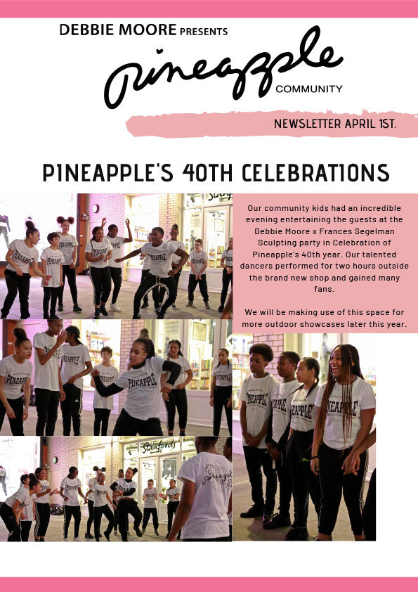 Pineapple Community Newsletter April 2019