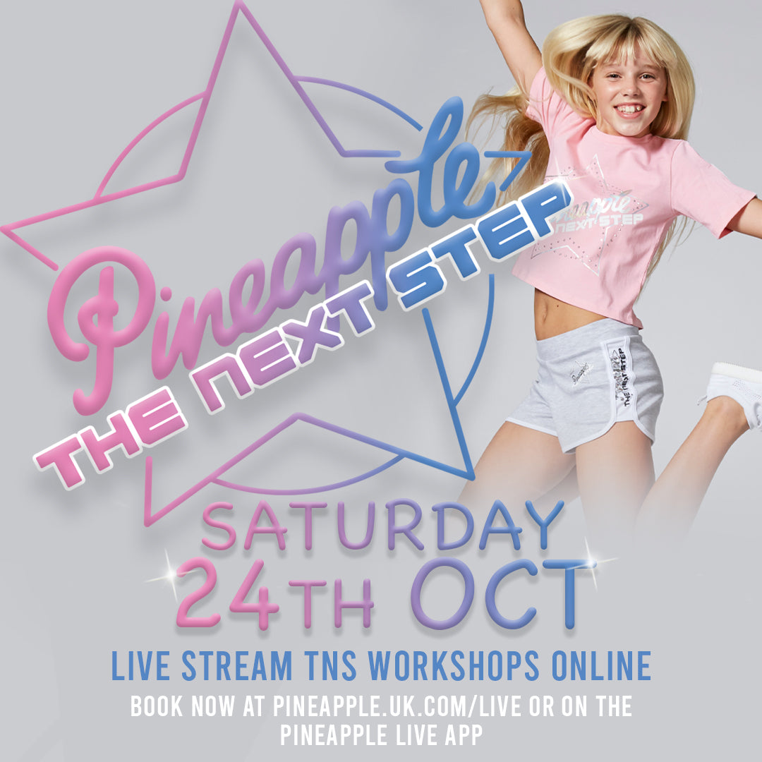 Join in 'The Next Step'-themed LIVEstream - 6 Workshops, Saturday 24 October