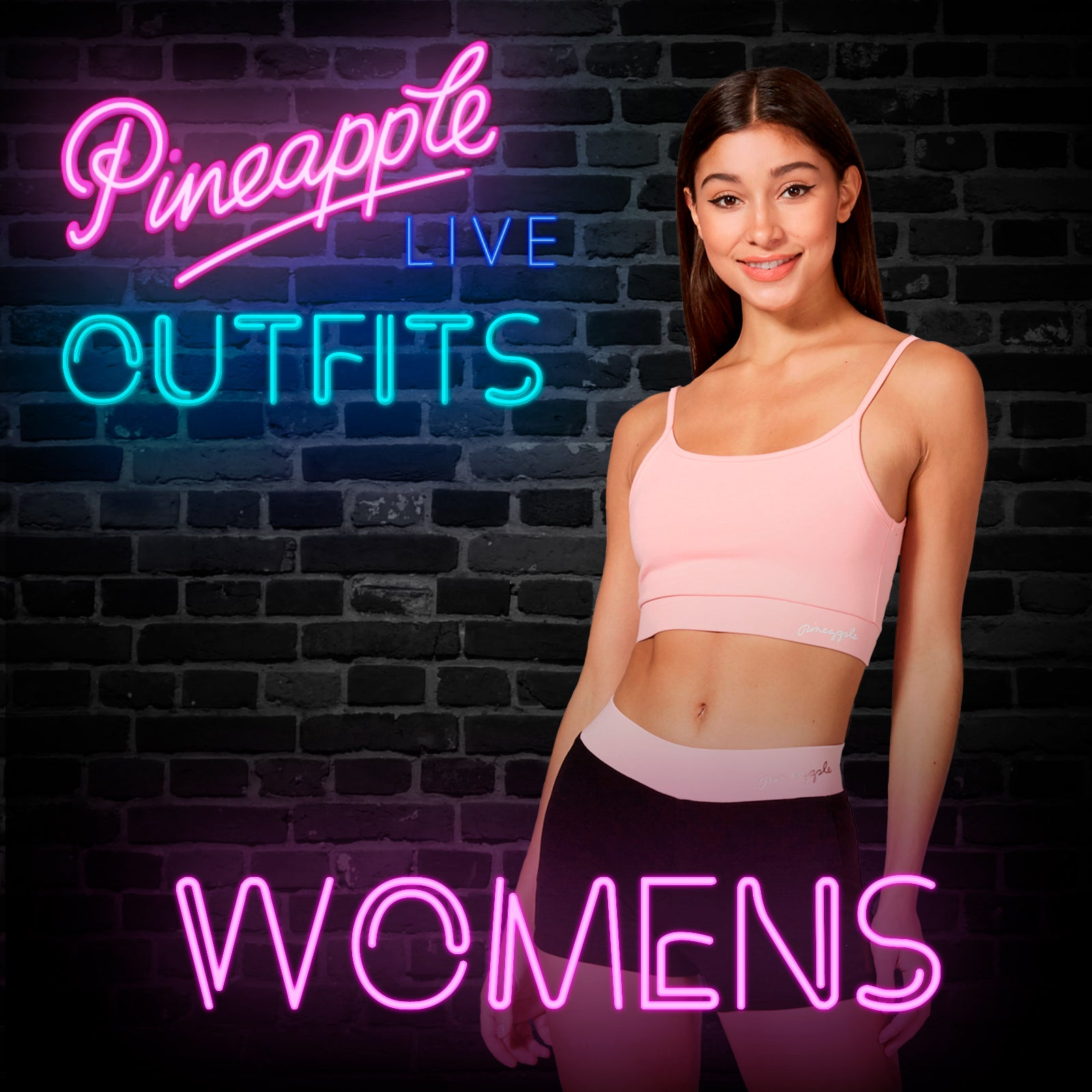 Pineapple LIVE dance class outfits for women