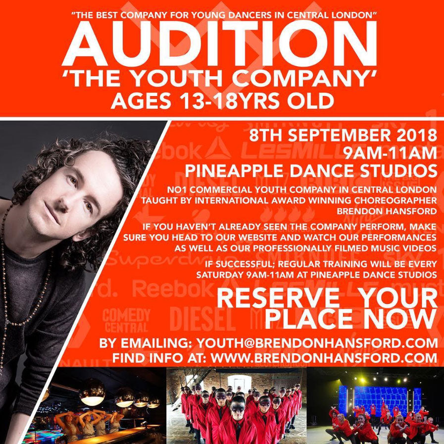 Youth Dance Audition - Brendon Hansford