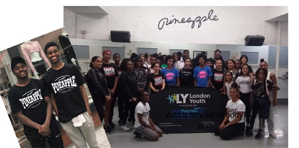 LONDON YOUTH AND JACK PETCHY DANCE DAY!