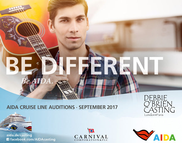 Aida Cruise Line Auditions - September 2017