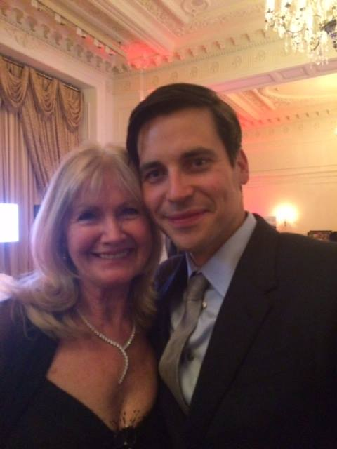 Debbie Moore and Rob James-Collier