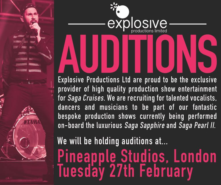 Explosive Productions Auditions
