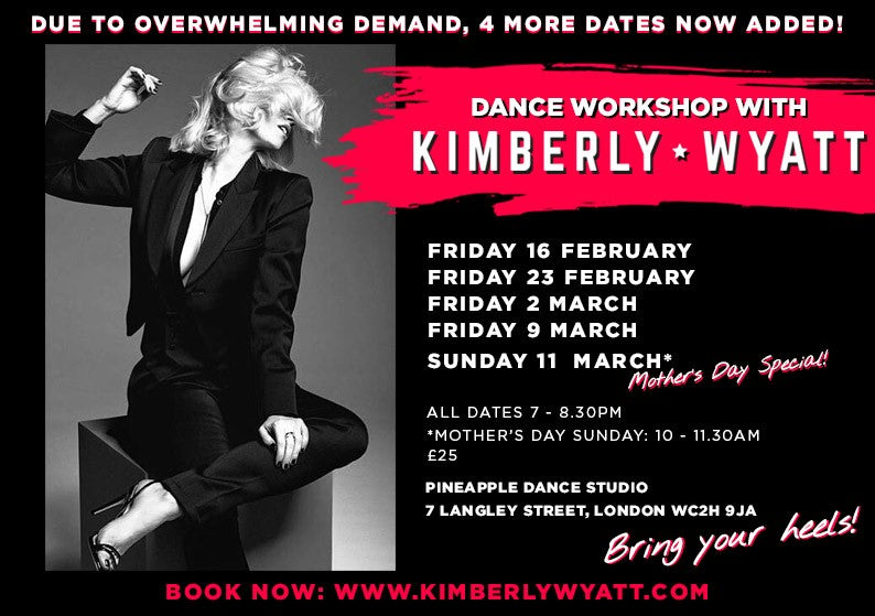 Dance Workshops with Kimberly Wyatt