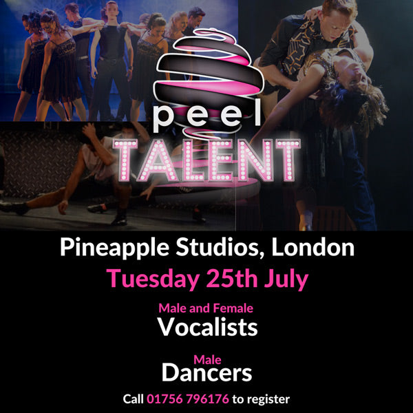 PEEL Entertainment Group Audition Tuesday 25 July 2017