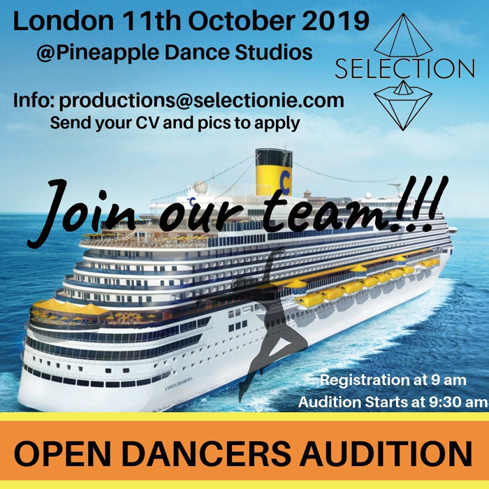Audition 11 October 2019