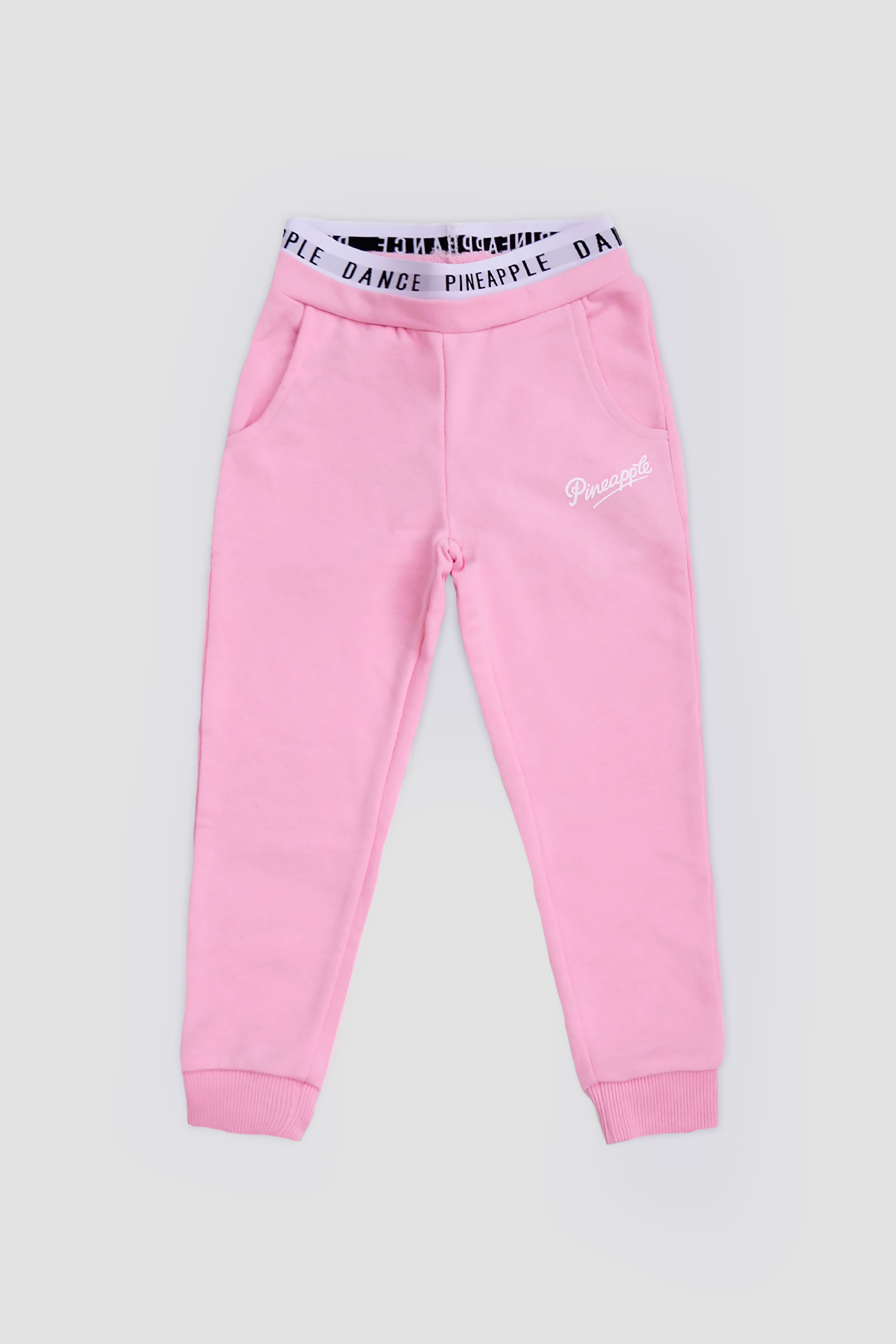 Pineapple Toddler Girls Pink Band Logo Jogger PT1744CP1