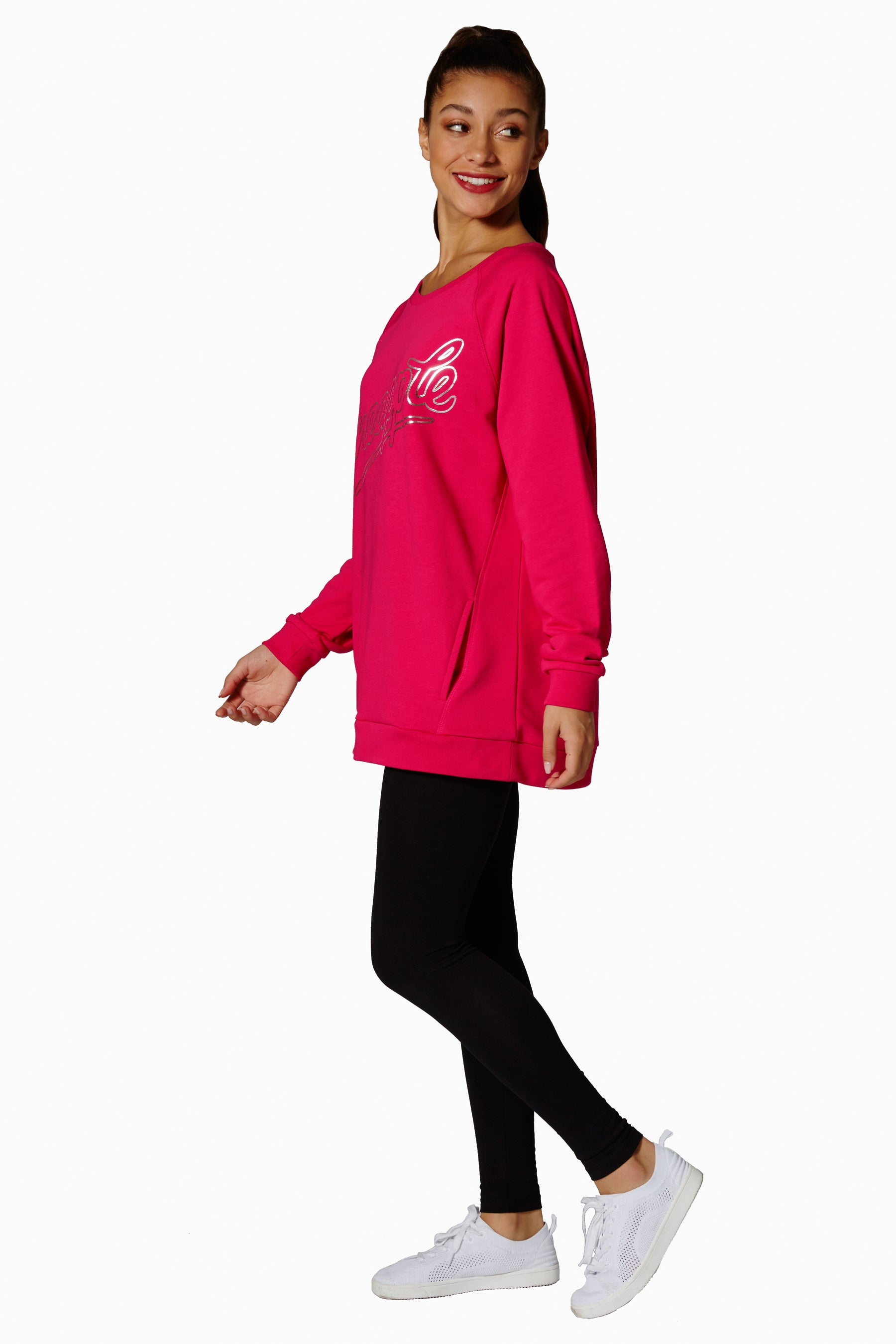 Pineapple Dancewear Women's Red Monster Sweater