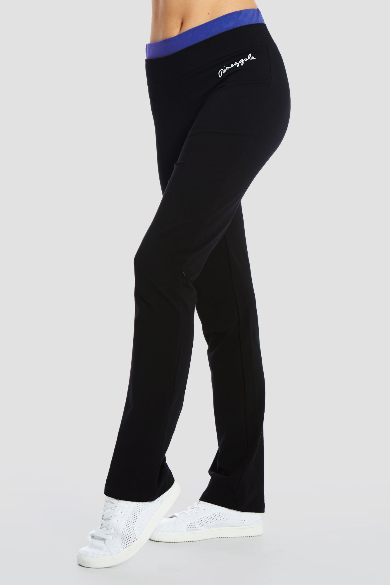 Double Band Jersey Trousers