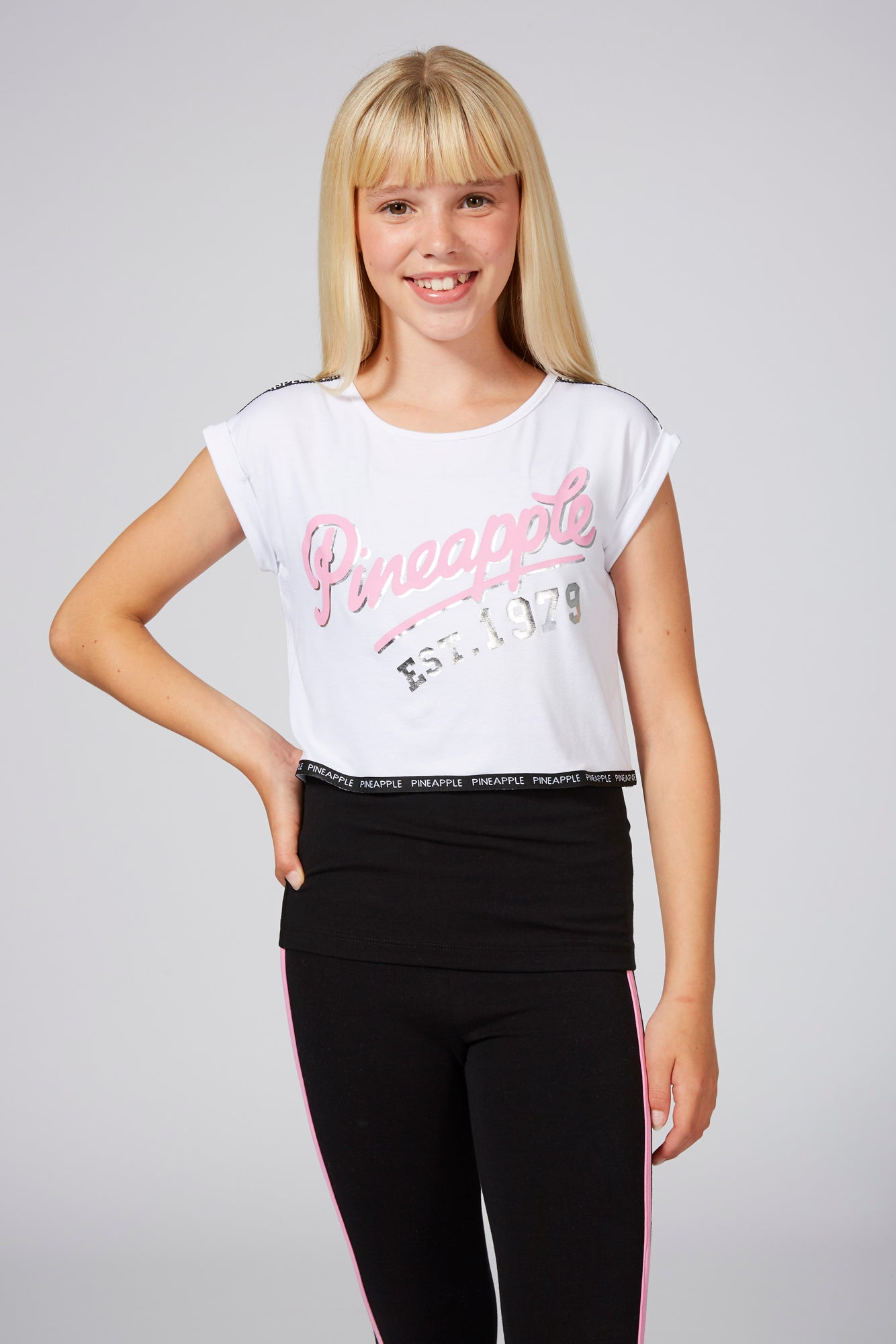 Pineapple Dancewear Girls' Double Layer T-Shirt