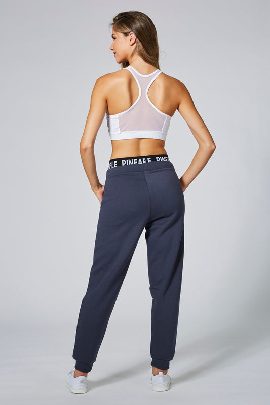 Pineapple Women's Charcoal Double Waist Trackpants PT16790A6