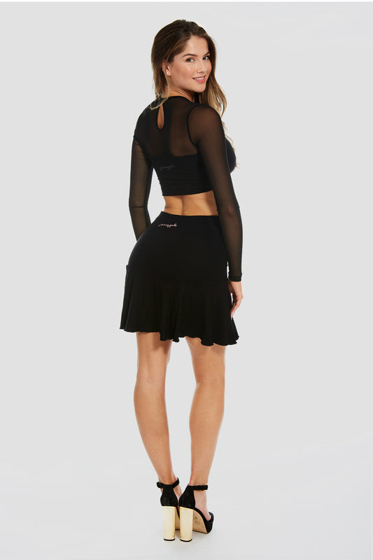 Pineapple Dancewear Women's Black The 'Debbie' Skirt