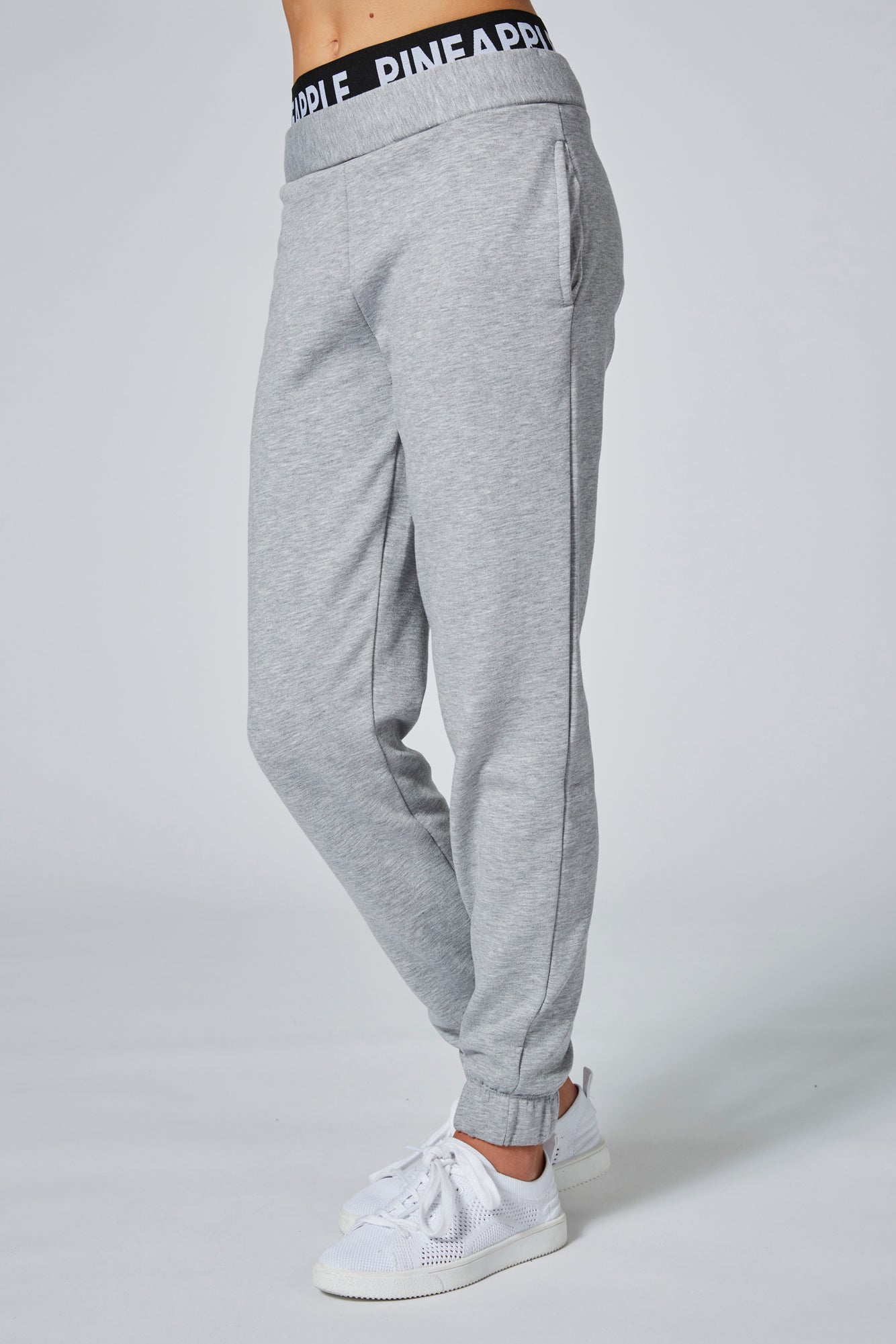 Pineapple Dance Girls' Double Grey Track Pants PT1633CA3