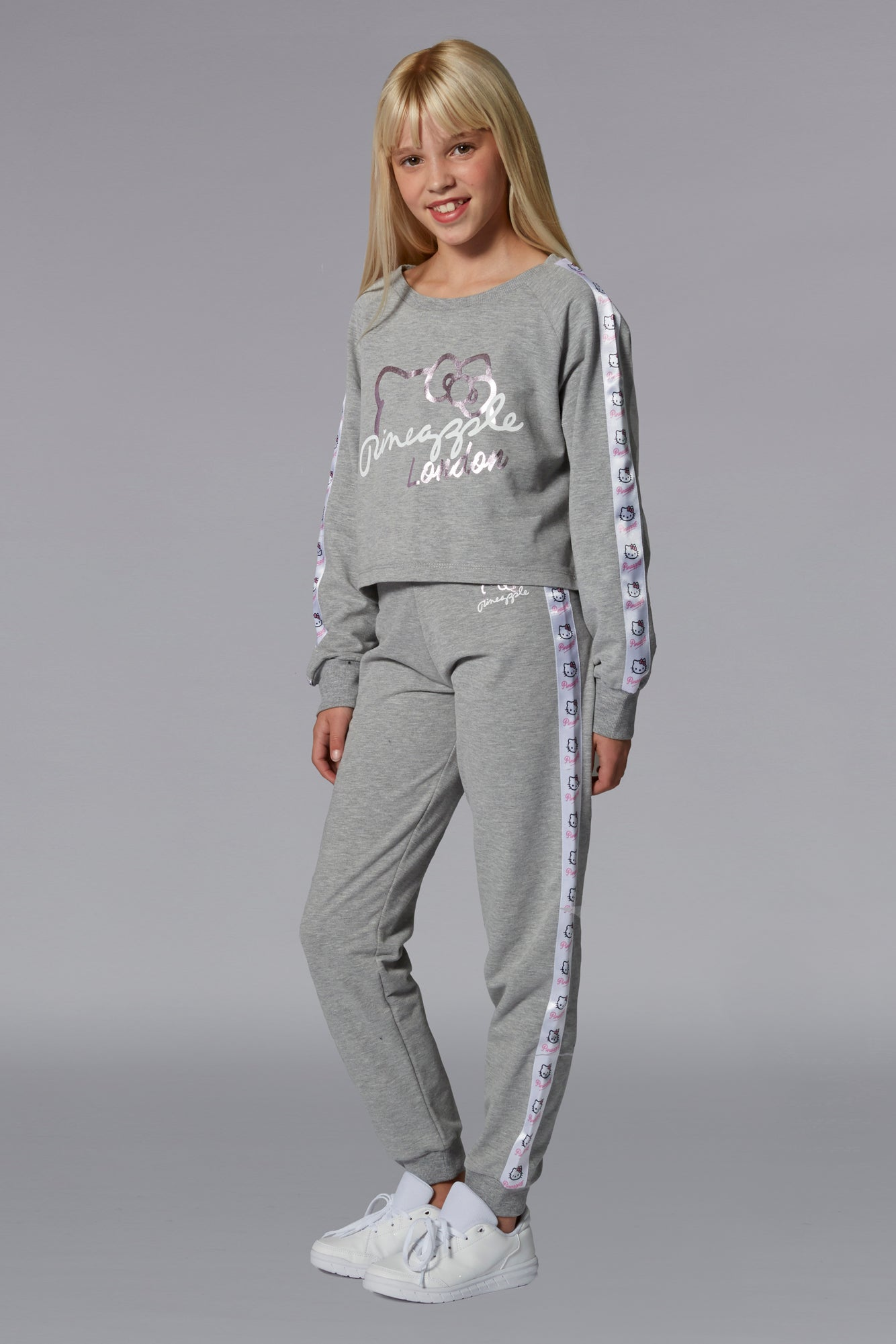 Hello Kitty Tape Joggers