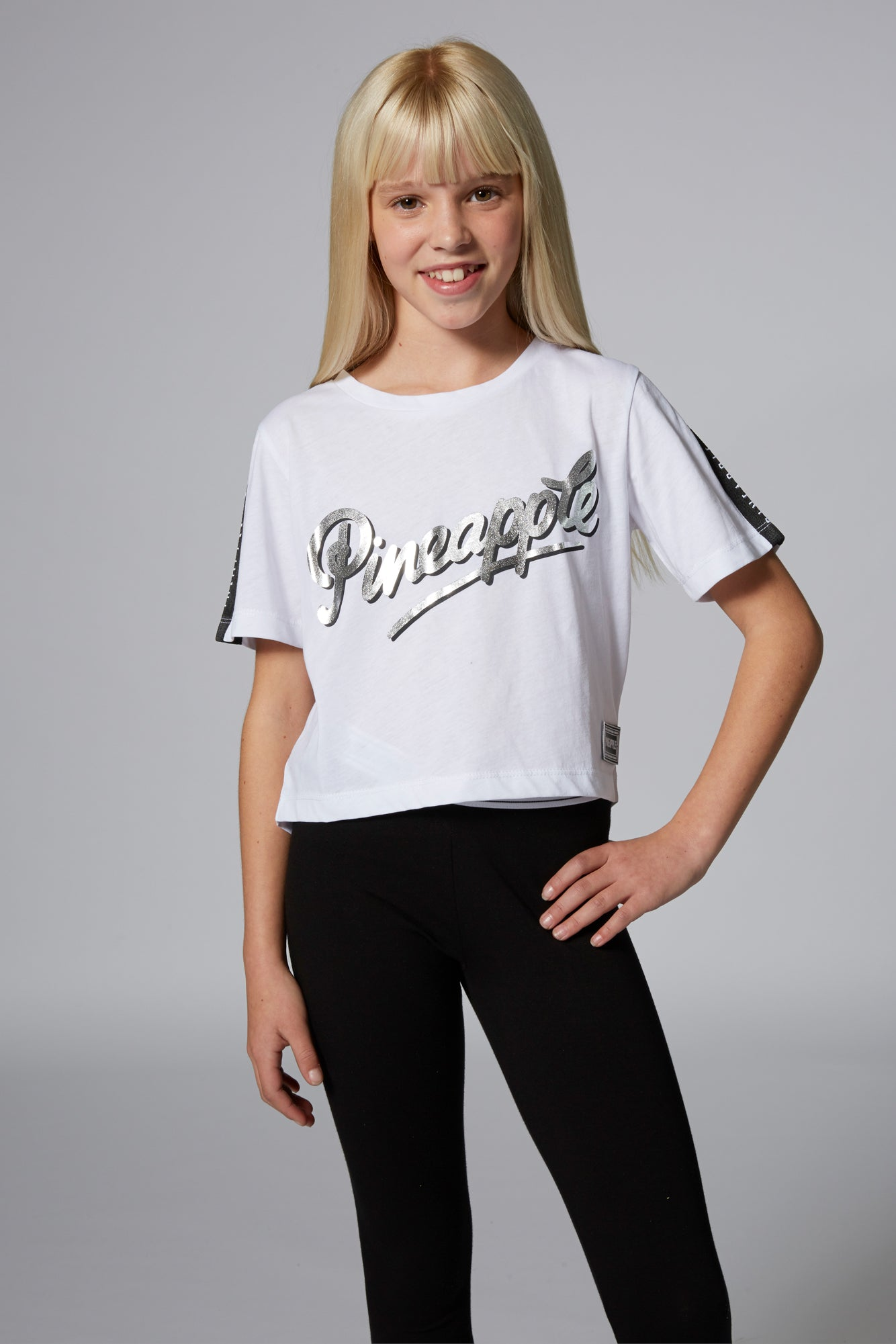 Girls' Jacquard T-Shirt