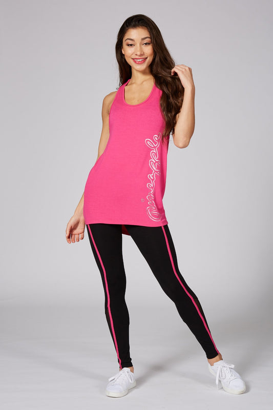 Pineapple Dancewear Women's Pink Jacquard Vest