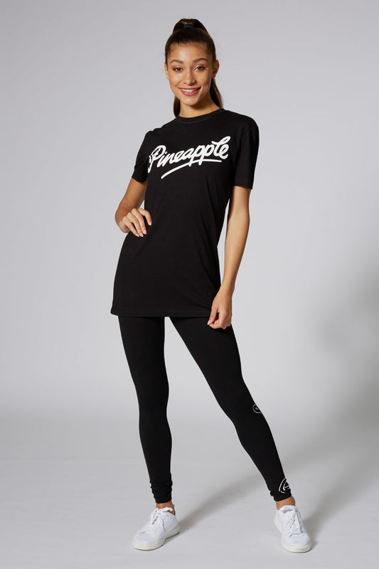 Pineapple Dancewear Women's Black Logo T-Shirt