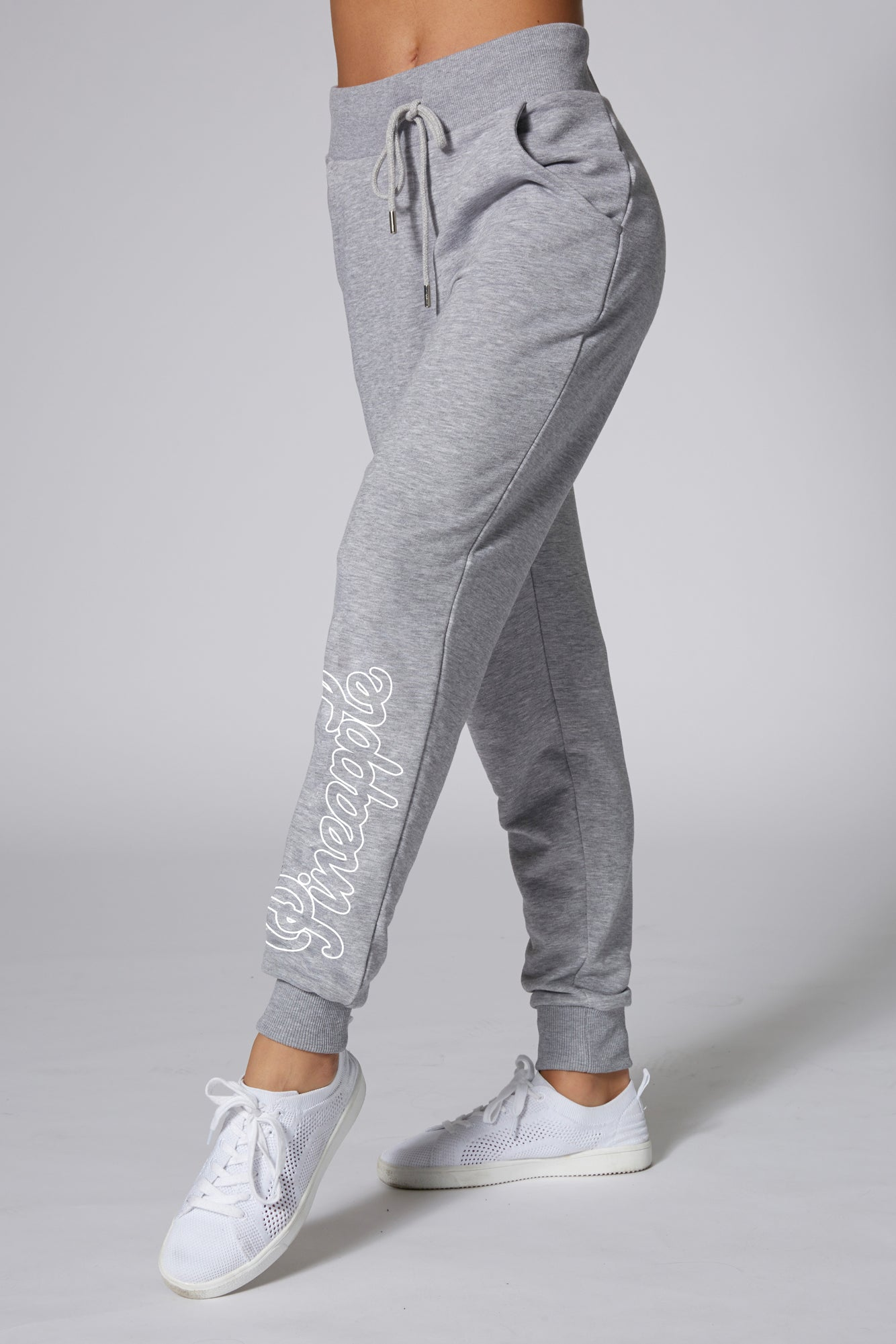 Pineapple Dancewear Women's Grey Loopback Joggers