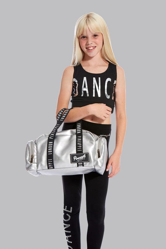 Pineapple Dance Silver Mini Covent Garden Dancer Bag