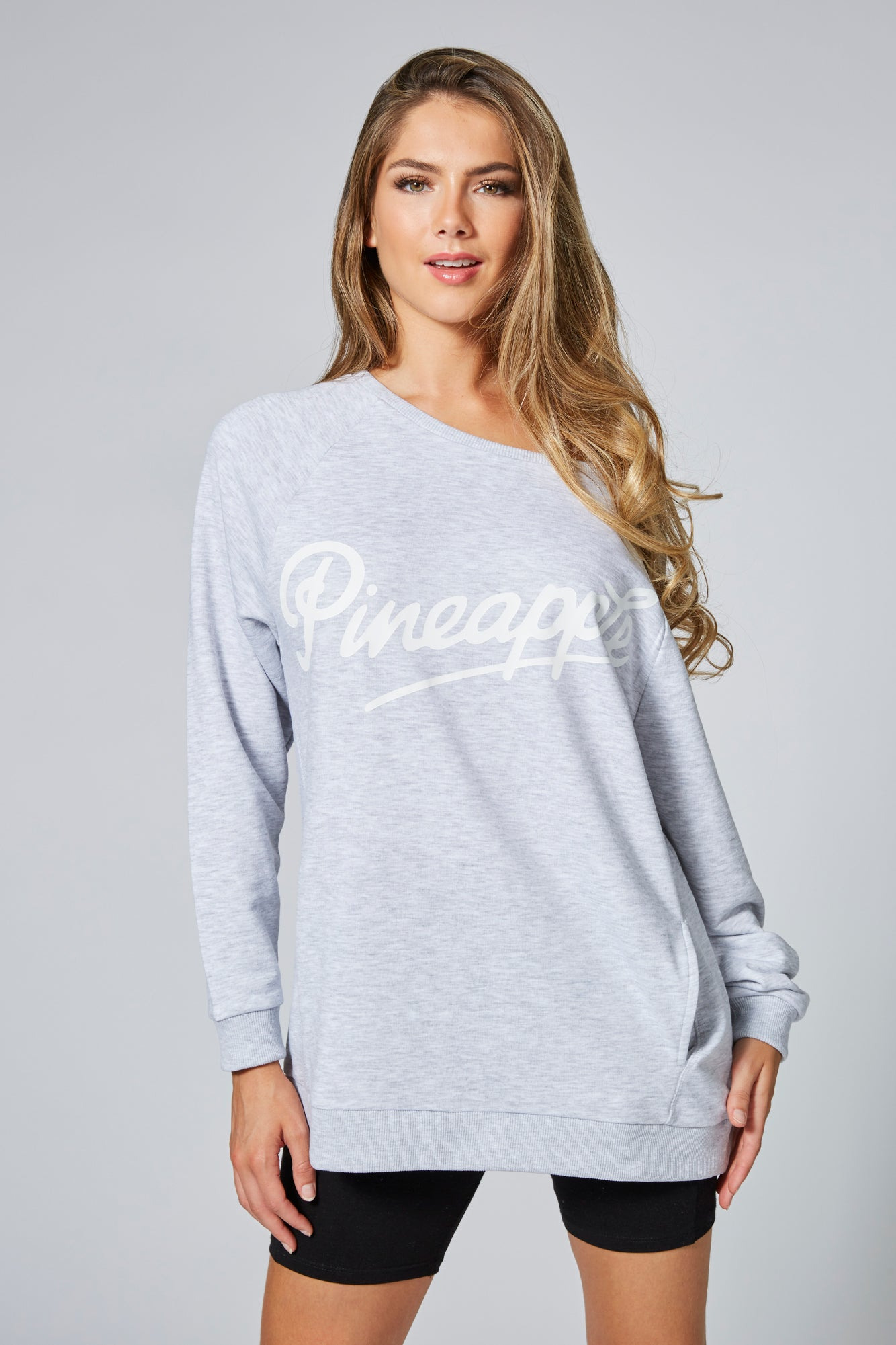 Pineapple Dancewear Women's Grey Monster Sweatshirt TL15560A3