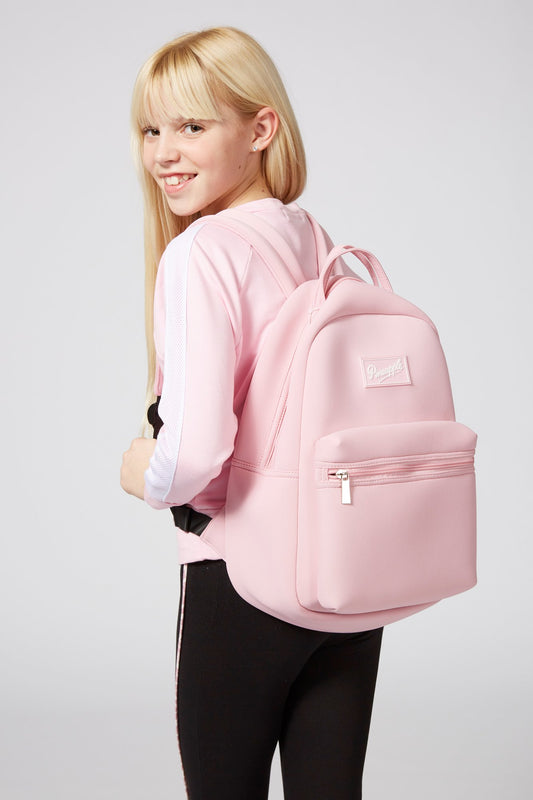 Pineapple Dance Pink Neoprene Backpack