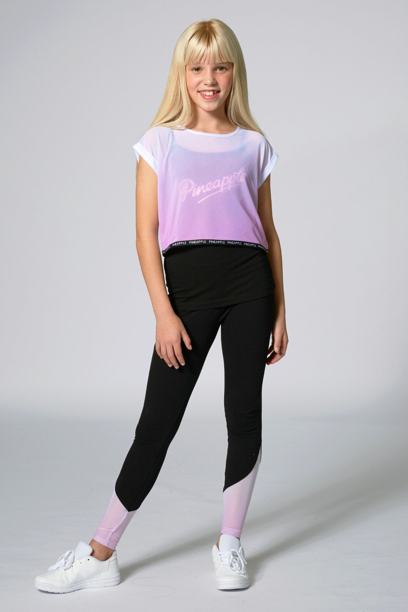 Ombre Double Layer T-Shirt
