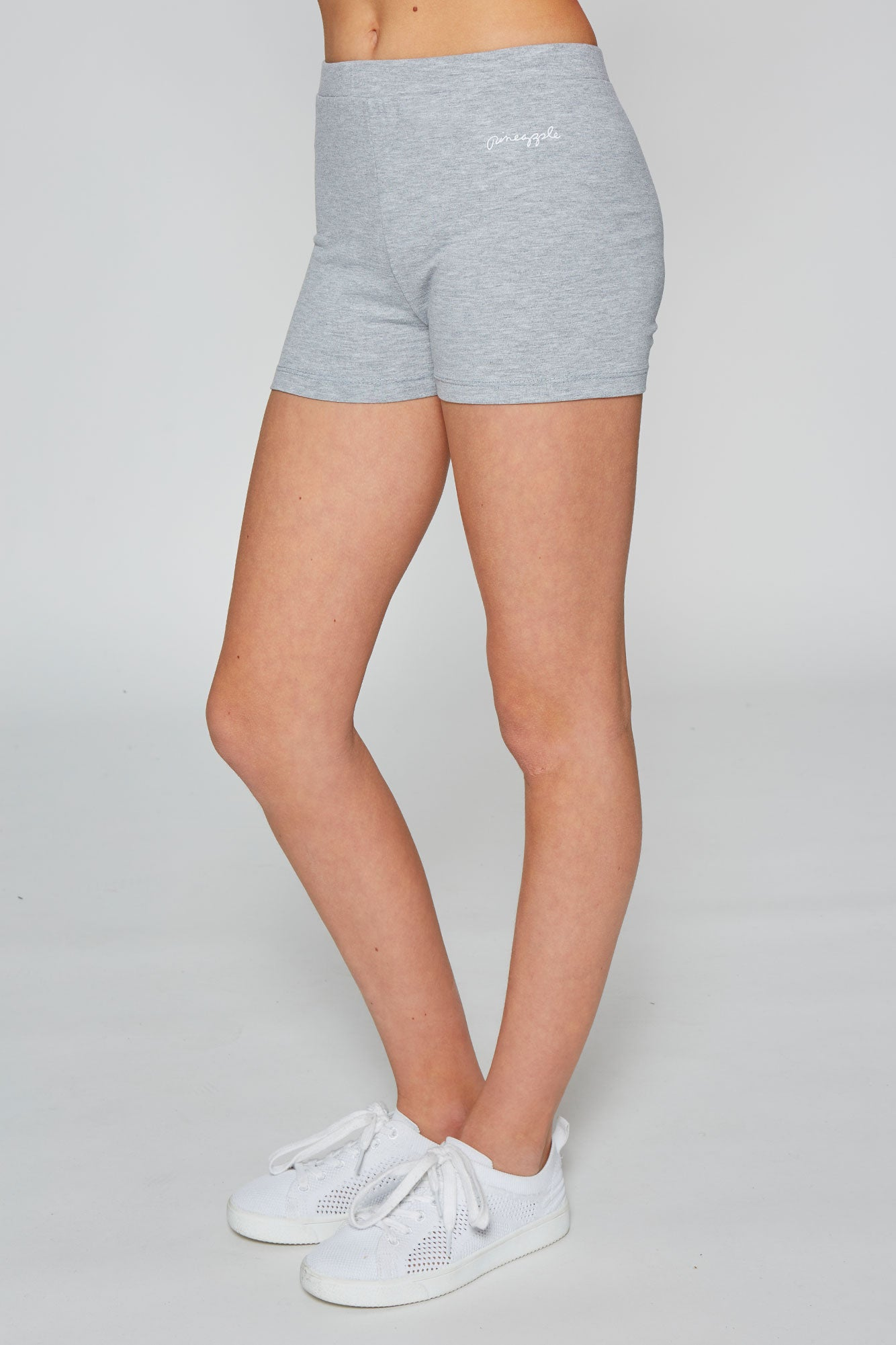 Pineapple Dance Girls' Grey Marl hot pants PS0032CA3
