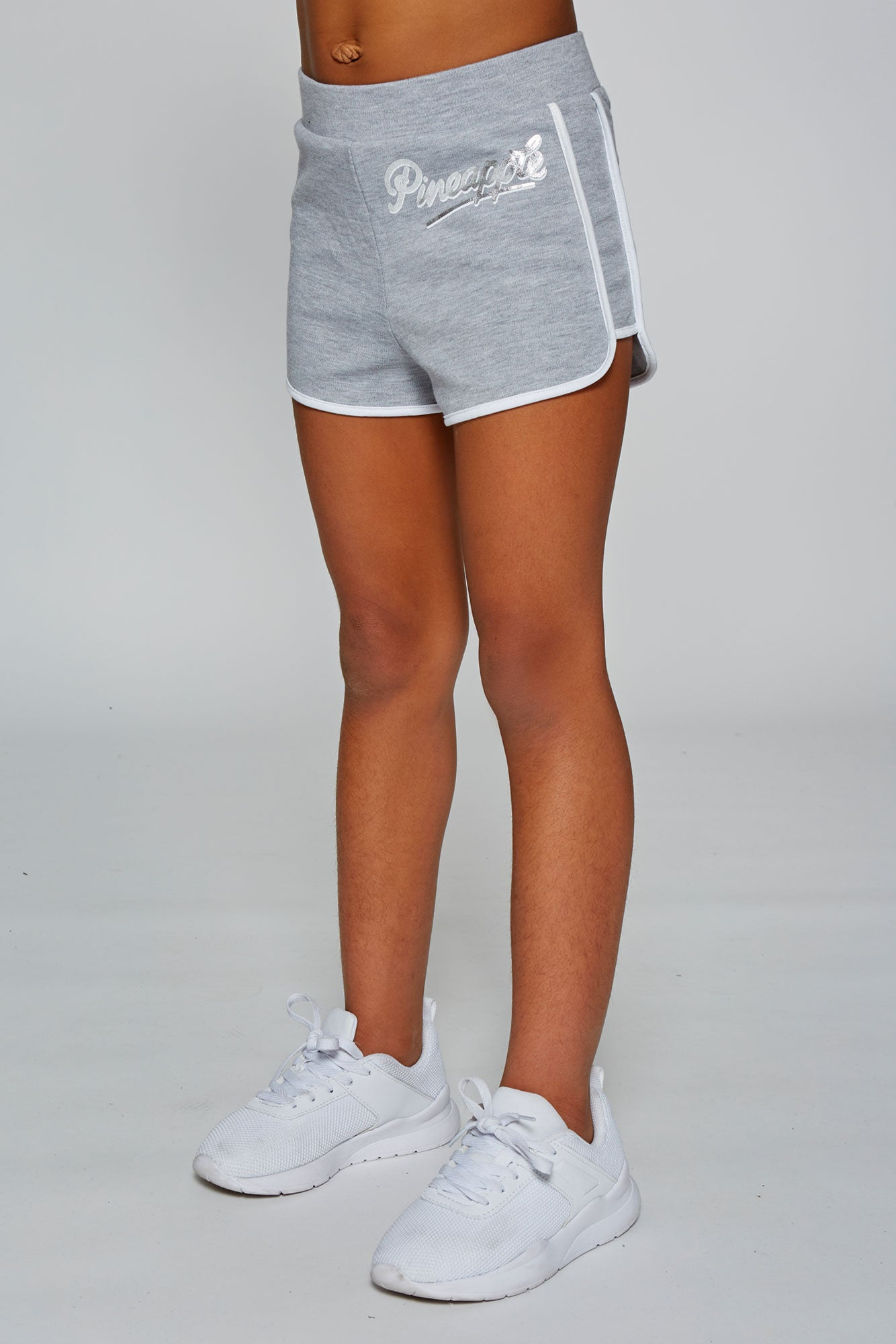 Pineapple Dance Girls' Grey Marl Sporty Shorts PS1558CA3