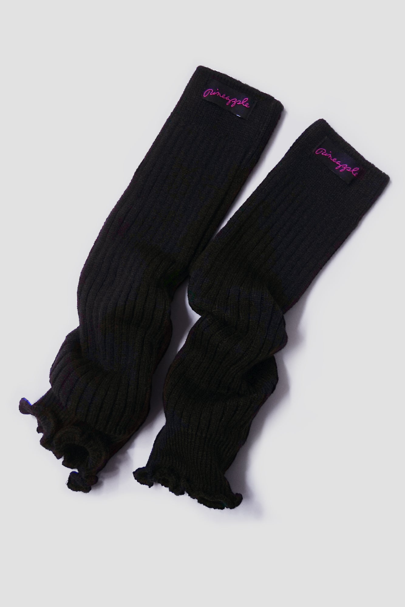 Pineapple Dance Black Leg Warmers