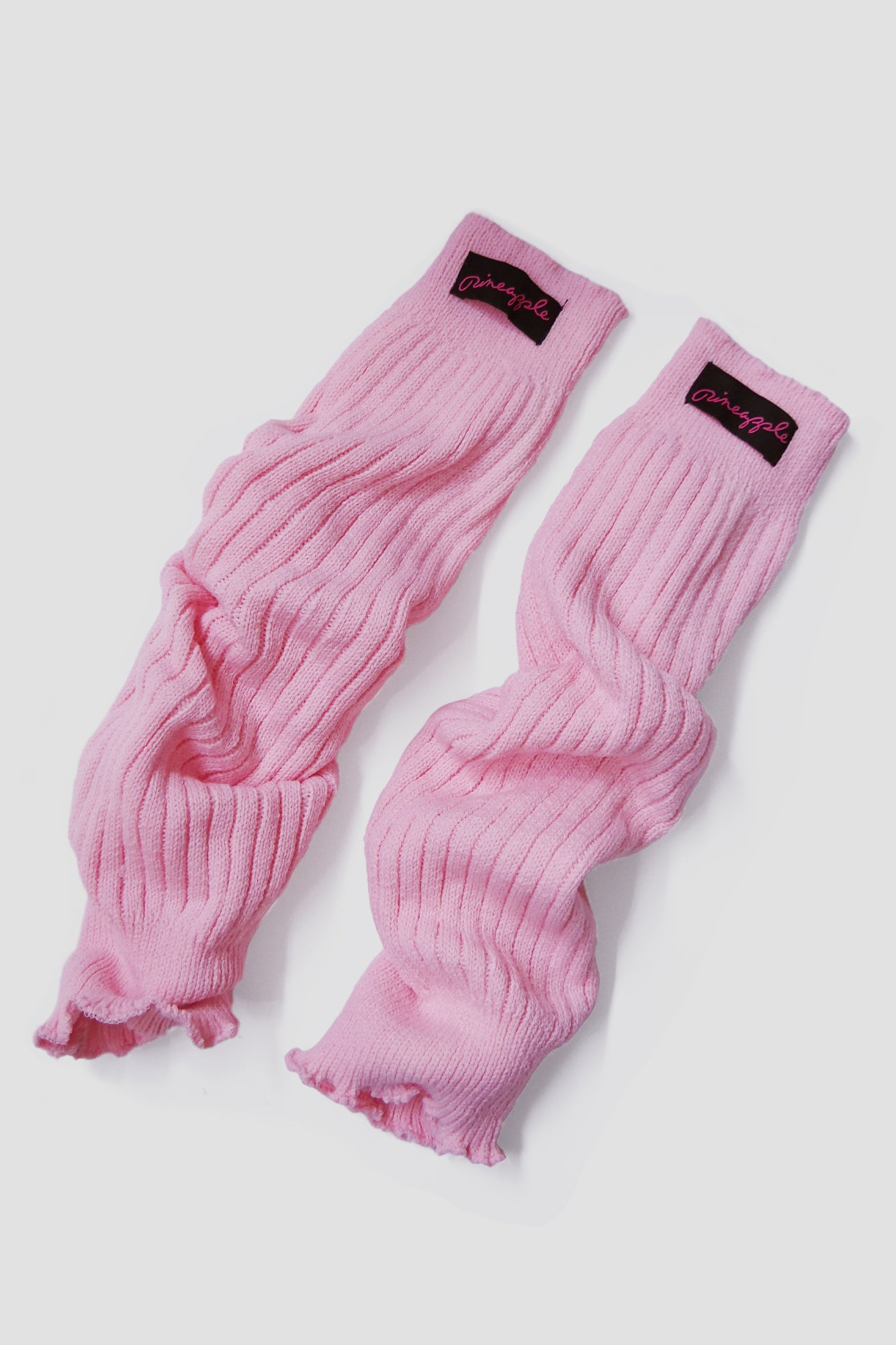 Pineapple Dance Pink Leg Warmers