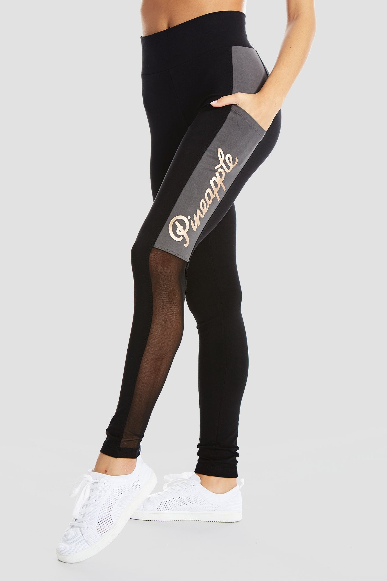 Pineapple Dancewear Women's Black Pocket Leggings