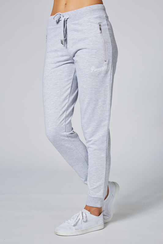 Pineapple Womens Grey Skinny Zip Joggers PT02980A3