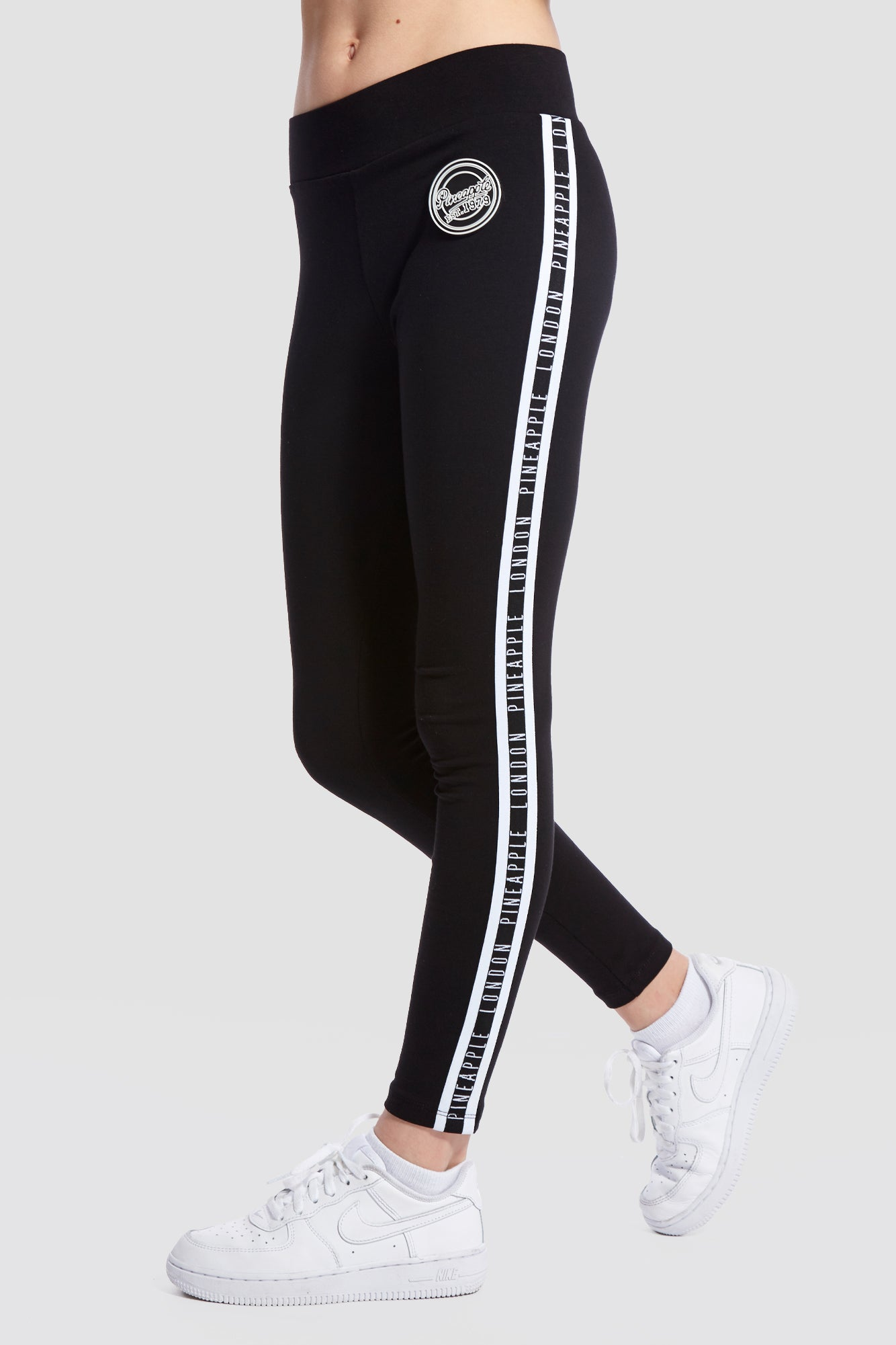 Stripe Jacquard Leggings