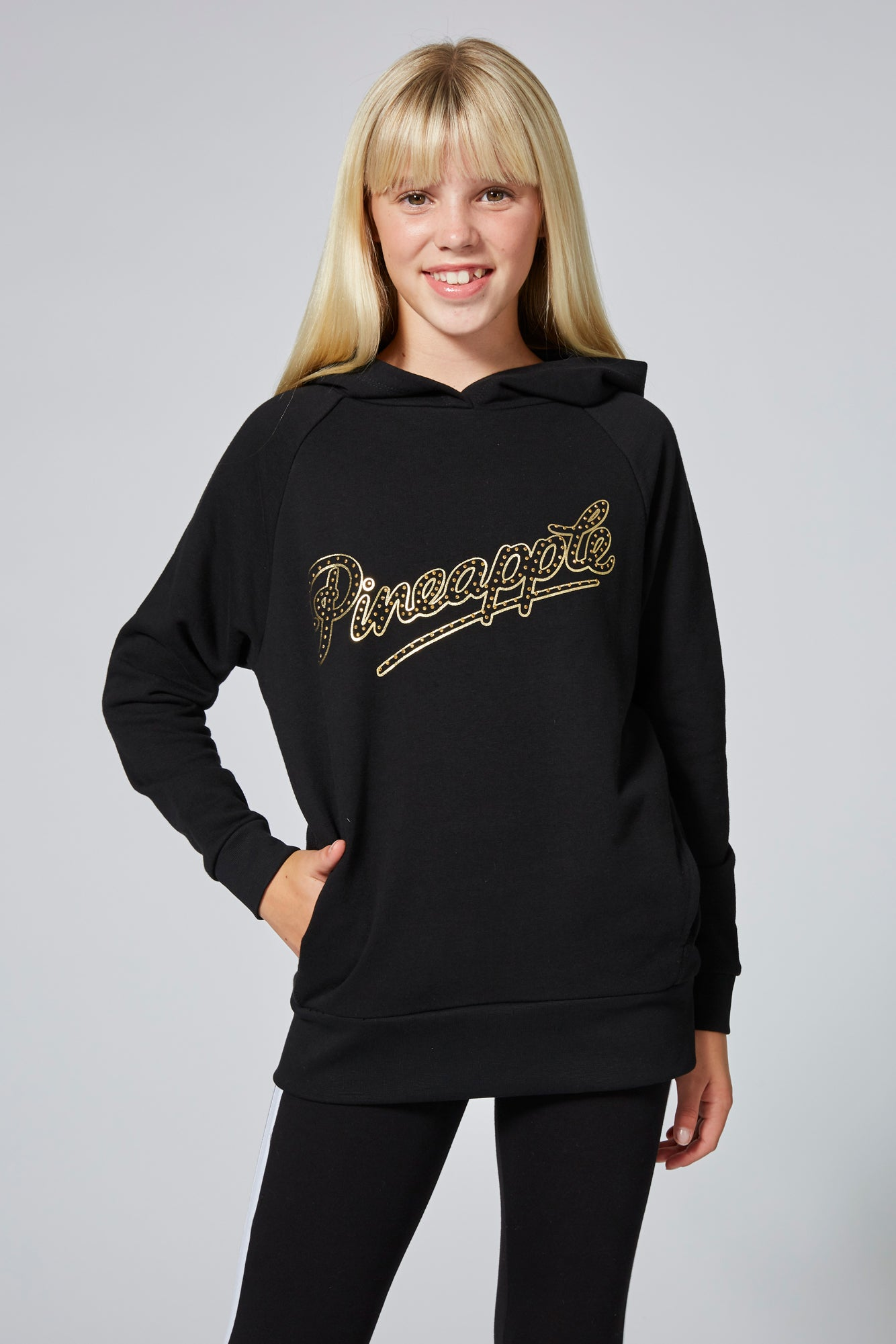 Pineapple Girl's Stud Oversized Hoodie TH1576CA1