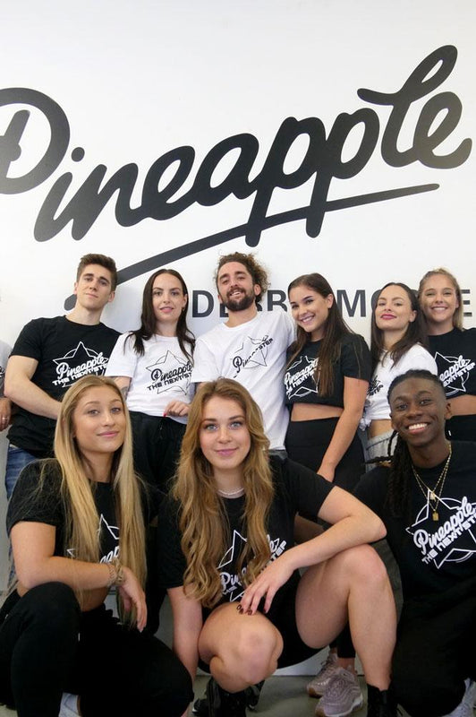 The Next Step cast at Pineapple