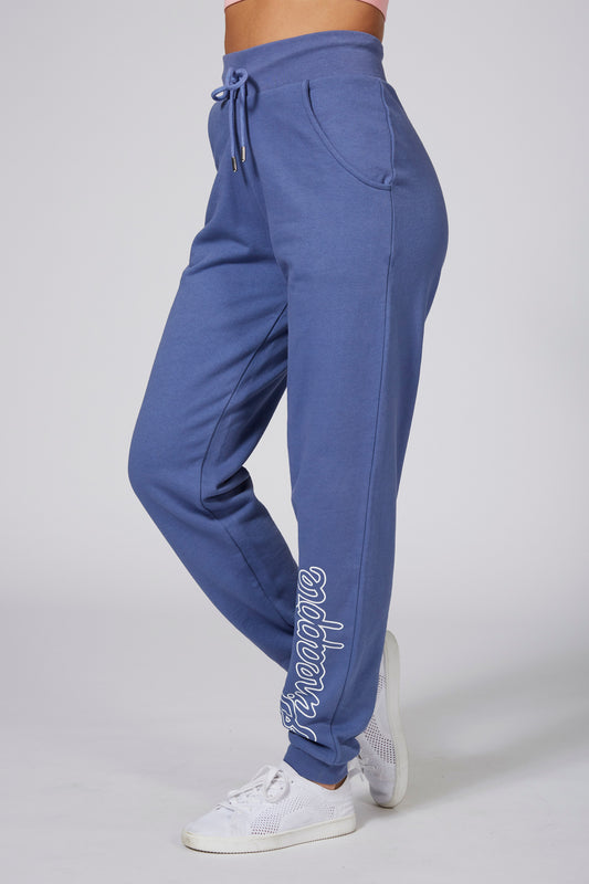 Pineapple Women's Loopback Blue Joggers PT16510D1