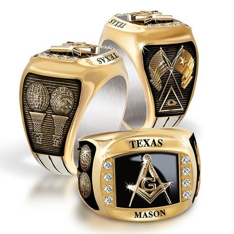 Texas Birthstone & Diamond Rings