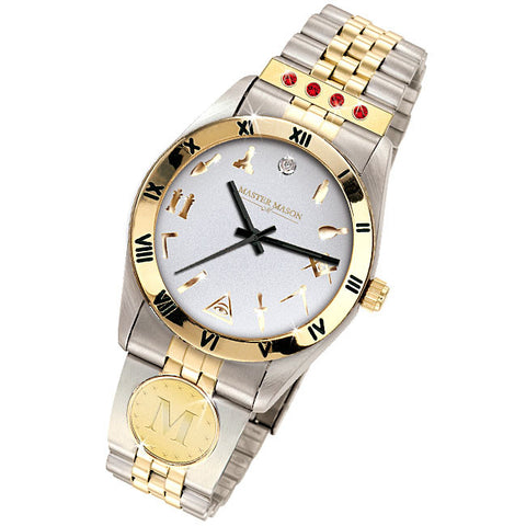 Master Mason Diamond & Birthstone Watch