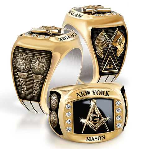 New York Mason Diamond & Birthstone Rings