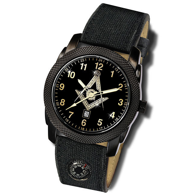 Masonic Expedition Compass Watch