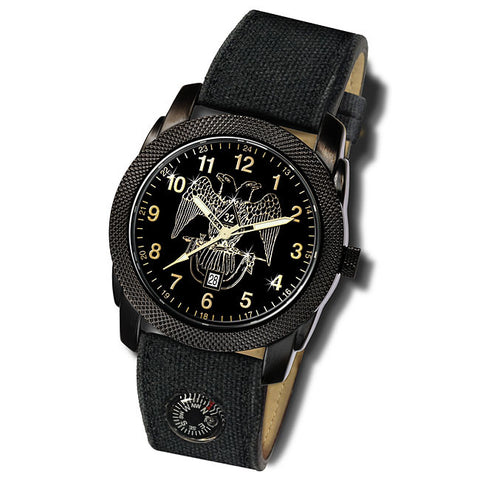 Scottish Rite Expedition Compass Watch