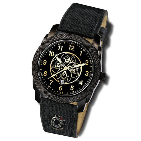 York Rite Expedition Compass Watch